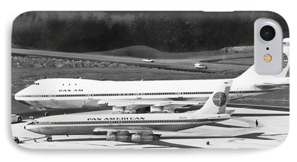 First Boeing 747 IPhone Case by Underwood Archives
