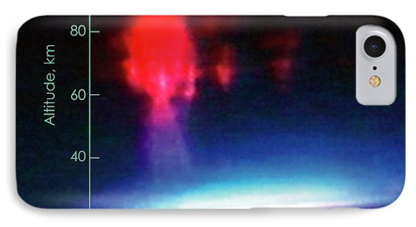 First Colour Image Of Sprite Lightning IPhone Case by Nasa/university Of Alaska