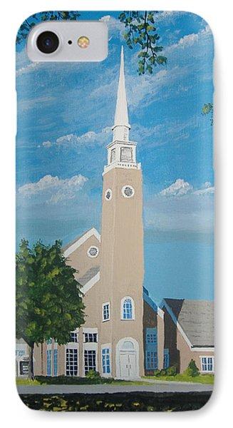 First Congregational Church IPhone Case