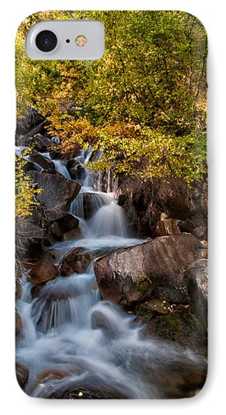 First Falls IPhone Case by Cat Connor