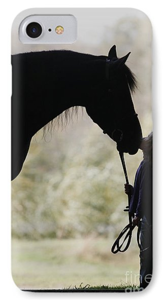 First Kiss IPhone Case by Carol Lynn Coronios