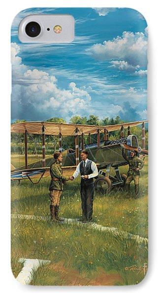 First Landing At Shepherd's Field Phone Case by Randy Green