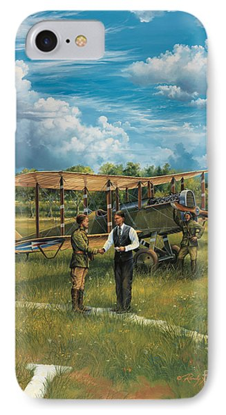 First Landing At Shepherd's Field IPhone Case by Randy Green