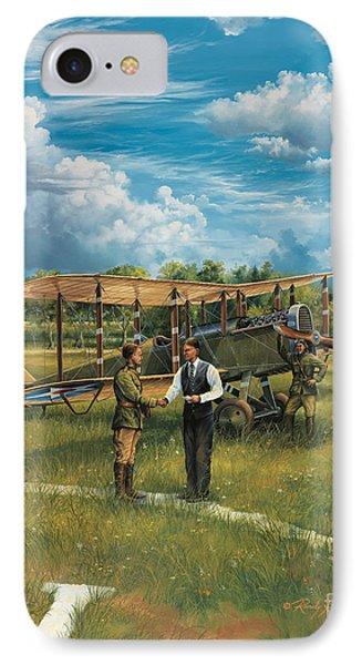 First Landing At Shepherd's Field IPhone Case