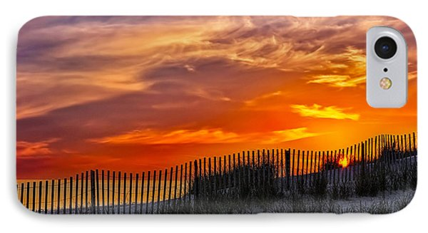 First Light At Cape Cod Beach  Phone Case by Susan Candelario