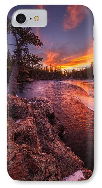 First Light IPhone Case by Darren  White