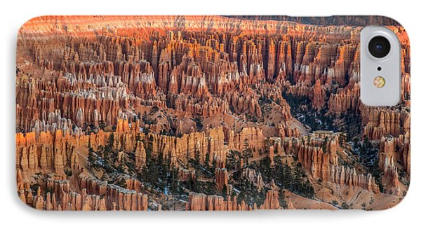 First Light In Bryce Phone Case by Pierre Leclerc Photography