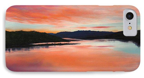 Arkansas River Sunrise IPhone Case