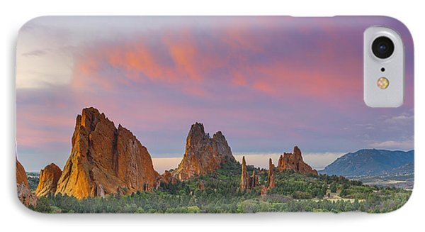 First Light Of Day IPhone Case by Tim Reaves
