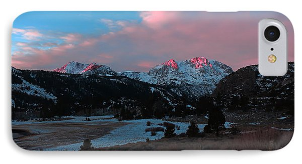 First Light On Carson IPhone Case by Paul Foutz