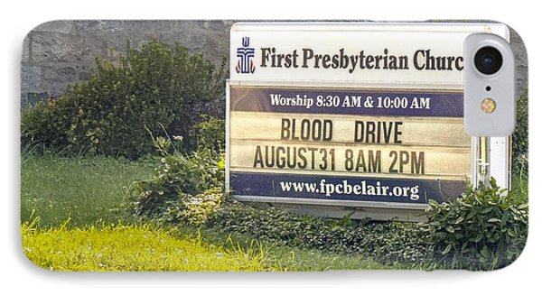 First Presbyterian Church IPhone Case