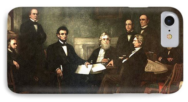 First Reading Of The Emancipation Proclamation Of President Lincoln Phone Case by Georgia Fowler