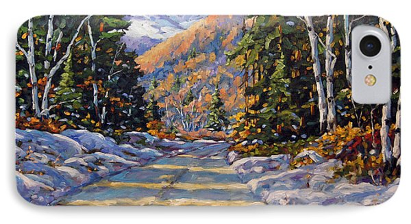 First Snow By Prankearts Phone Case by Richard T Pranke
