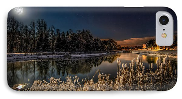 First Snow IPhone Case by Everet Regal