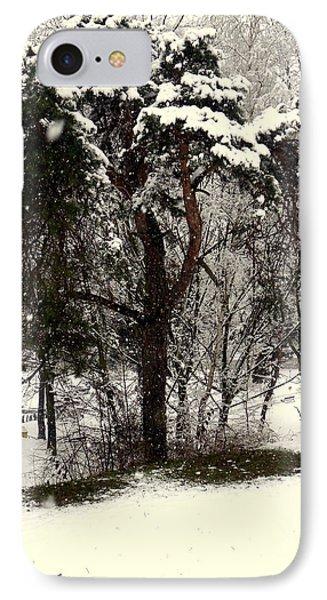 First Snow IPhone Case by Henryk Gorecki