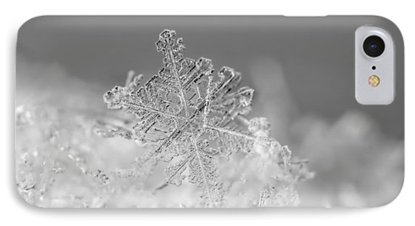 First Snowflake Phone Case by Rona Black