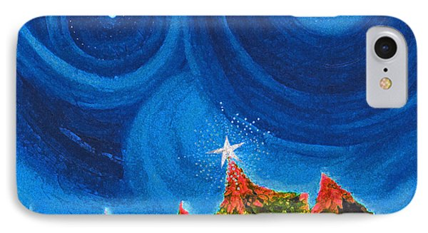 First Star Christmas Wish By Jrr IPhone Case by First Star Art