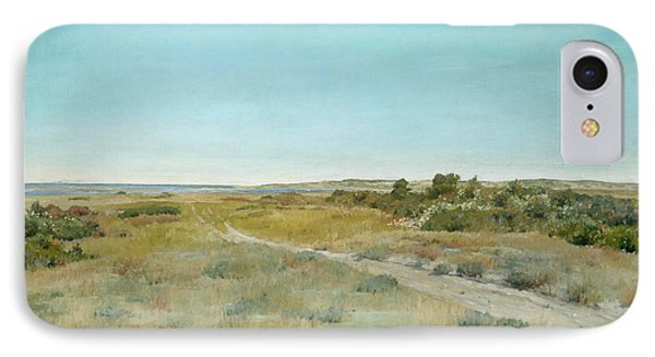 First Touch Of Autumn IPhone Case by William Merritt Chase
