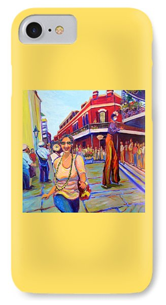First Trip To New Orleans IPhone Case by Jeanette Jarmon