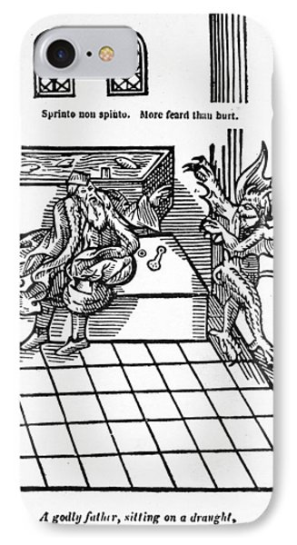 First Water-closet, 1596 IPhone Case by Granger
