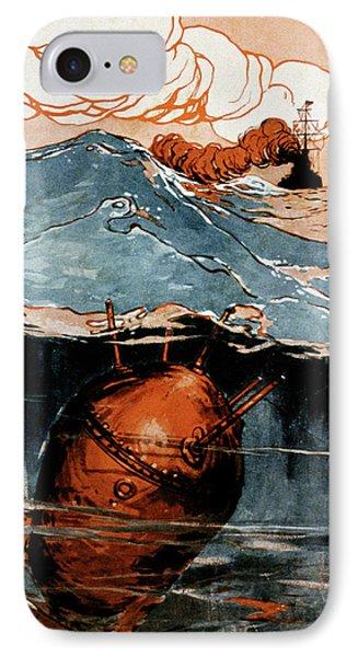First World War Naval Mine IPhone Case