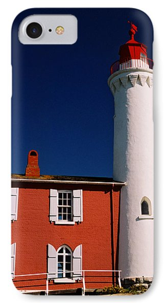 Fisgard Lighthouse IPhone Case by Michele Wright
