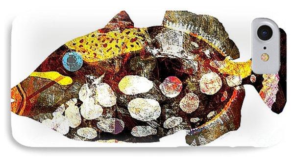 Fish 504-11-13 Marucii Phone Case by Marek Lutek