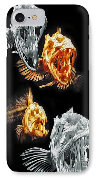 Fish Bones IPhone Case by Gregory Dyer