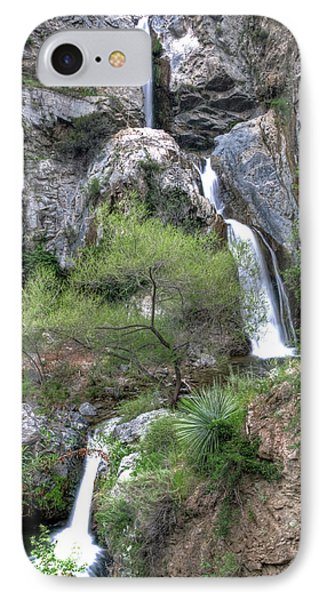 Fish Canyon Falls Phone Case by Eddie Yerkish