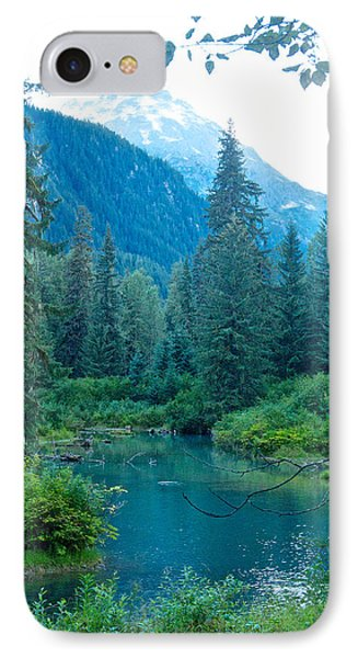 Fish Creek In Tongass National Forest By Hyder-ak  IPhone Case