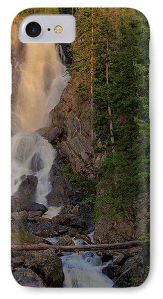 Fish Creek Waterfall IPhone Case