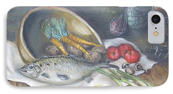 Fish For Dinner IPhone Case