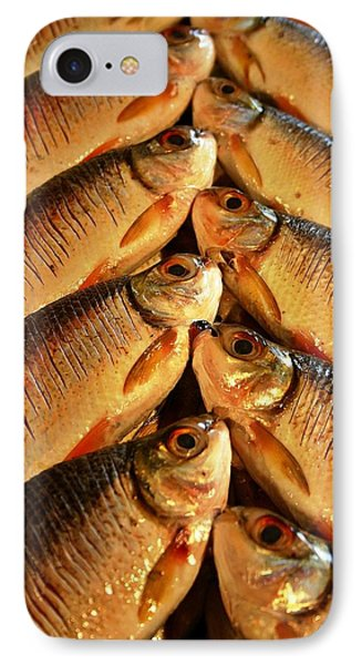 IPhone Case featuring the photograph Fish For Sale by Henry Kowalski