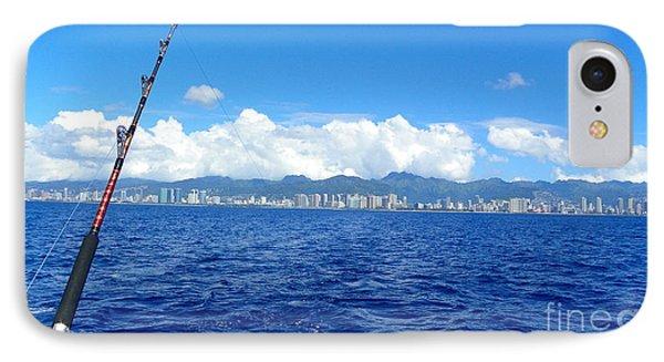 Fish Honolulu  IPhone Case by Shawn MacMeekin