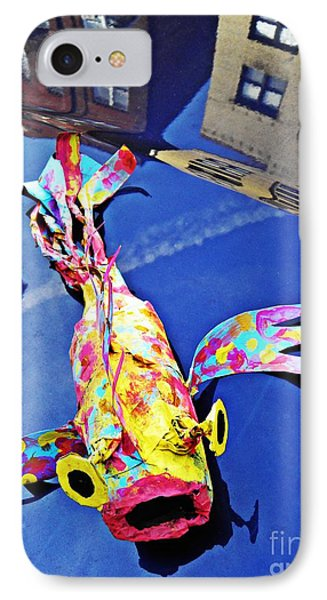Fish Out Of Water Phone Case by Sarah Loft