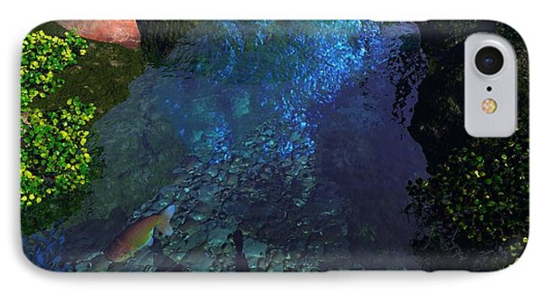 Fish Pond IPhone Case by John Pangia