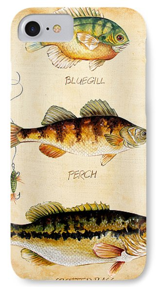 Fish Trio-c IPhone Case by Jean Plout