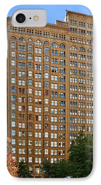 Fisher Building - A Neo-gothic Chicago Landmark Phone Case by Christine Till