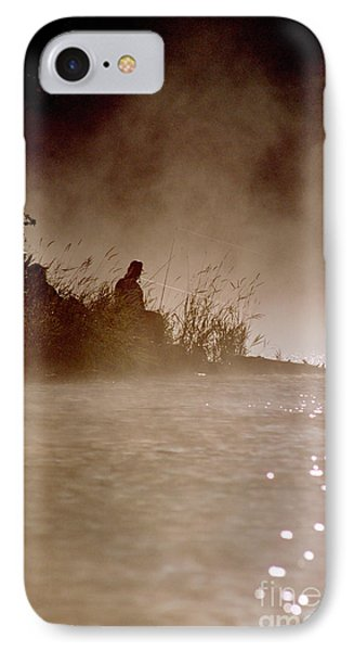 Fisher In The Mist IPhone Case