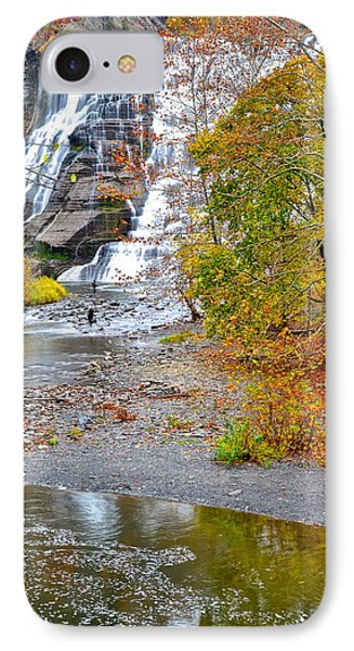 Fisherman One With Nature Phone Case by Frozen in Time Fine Art Photography