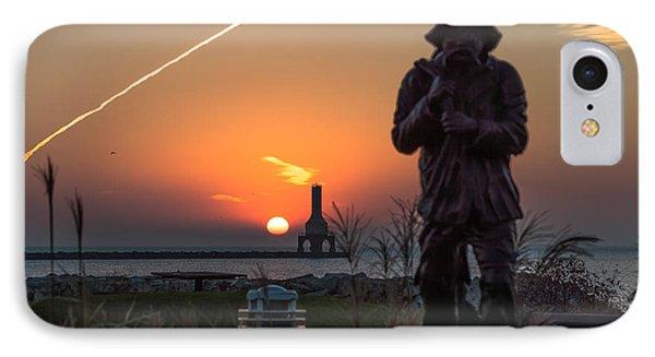 Fisherman Sunrise IPhone Case by James  Meyer