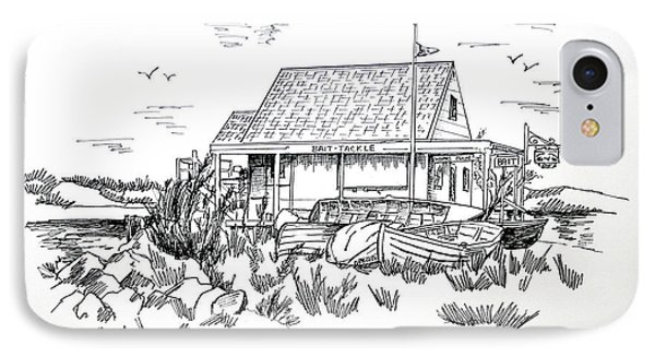 Fisherman's Cove Manasquan Nj IPhone Case