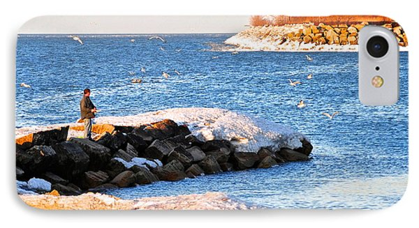 Fishermans Cove Phone Case by Frozen in Time Fine Art Photography