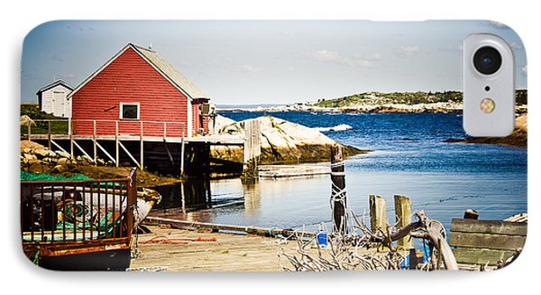 Fisherman's Cove IPhone Case by Sara Frank