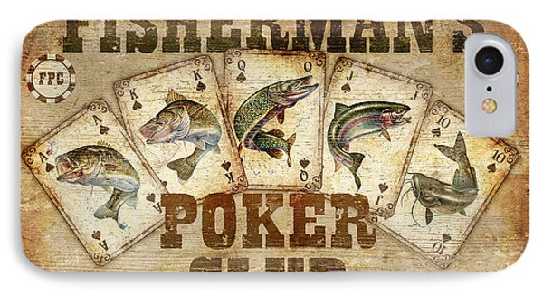 Fishermans Poker Club IPhone Case by JQ Licensing
