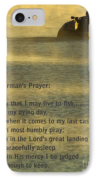 Fisherman's Prayer IPhone 7 Case by Robert Frederick
