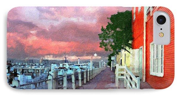IPhone Case featuring the photograph Fisherman's Village Marina Del Mar Ca by David Zanzinger