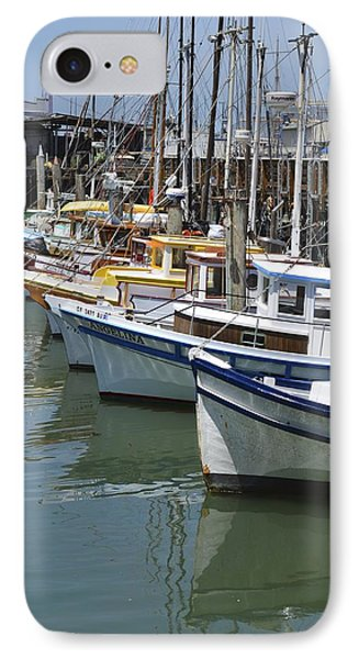 Fishermans Wharf IPhone Case by Alex King