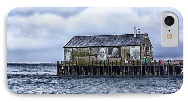 IPhone Case featuring the photograph Fishermans Wharf Provincetown Harbor by Constantine Gregory