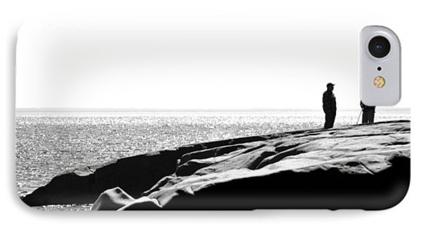 Fishers By The Sea Phone Case by Matthew Blum